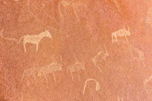 Pinturas rupestres en berzocana