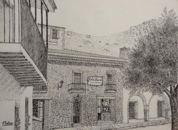 Pintura Hotel Berzocana